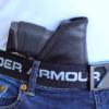 friction activated CZ P01 Omega pocket holster
