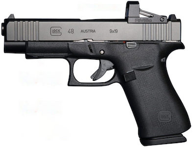 Glock 48 MOS with Red Dot