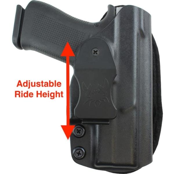 Glock 43X MOS Kydex holster