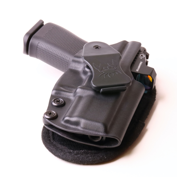 glock 43x holster with red dot