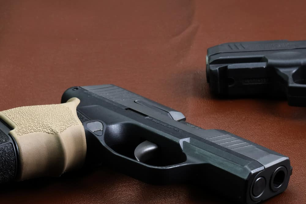 Sig P365 with Hogue Grip