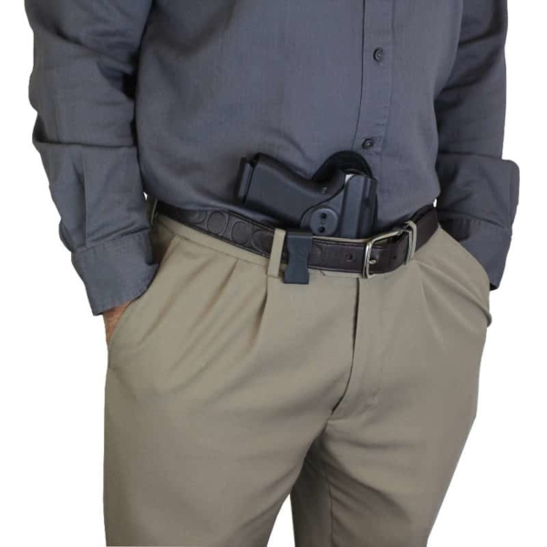 Glock 43X MOS holster from appendix carry