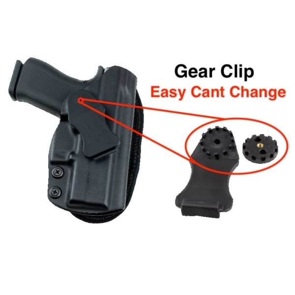 Kydex Glock 43X MOS holster for ccw