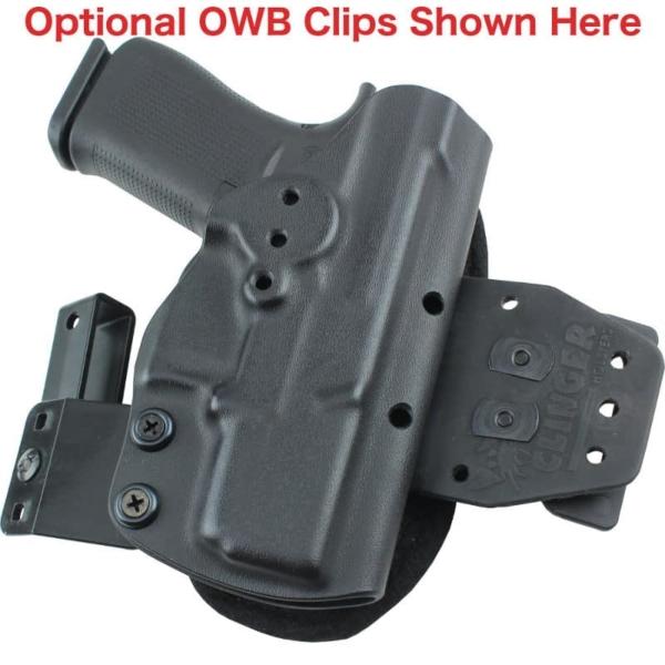 Glock 43X MOS IWB Hinge Holster converts