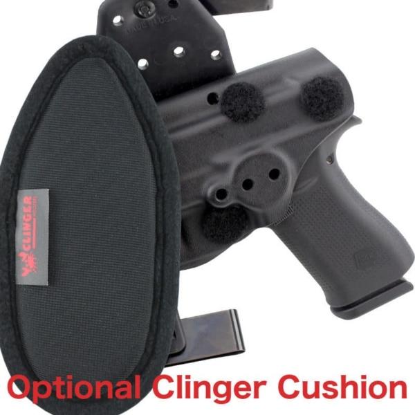cushioned OWB Glock 43X MOS holster