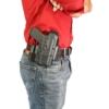 Glock 43X MOS OWB Hinge Holster