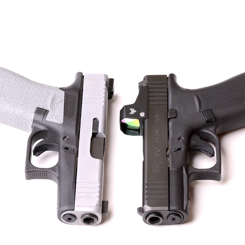 Glock 43X vs Glock 43X