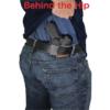 SAR K2P Kydex holster drawn from belt