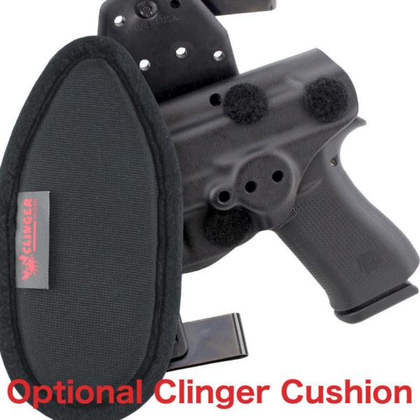 cushioned OWB CZ 75B holster