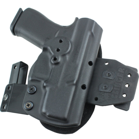 OWB Kel Tec P11 holster with cushion attached