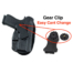 Kydex Ruger SR40C holster for ccw