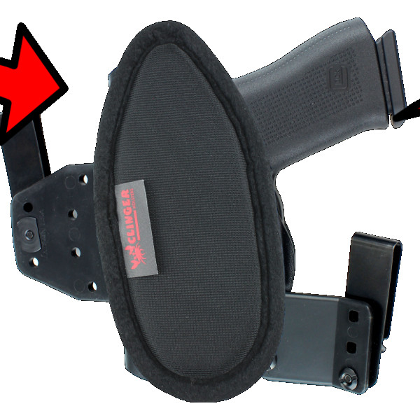comfortable Ruger EC9S holster