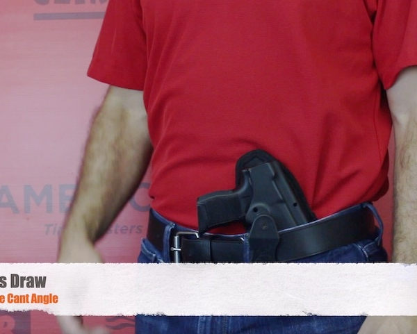 HK USP Compact holster for crossdraw