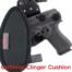 cushioned OWB Ruger SR40C holster