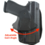easily change cant on Ruger SR40C Gear Holster