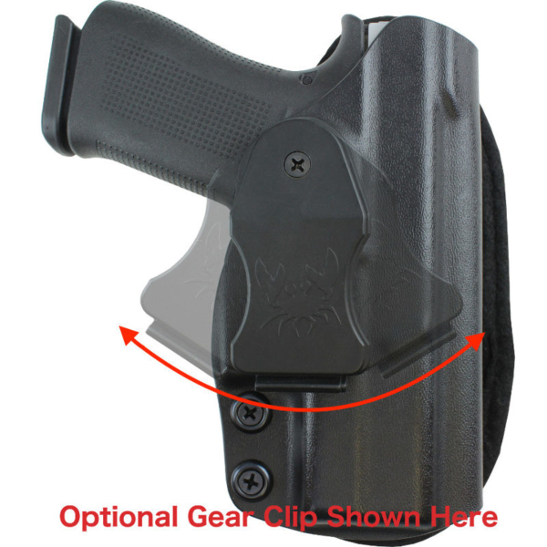 optional belt clip Glock 36 for Low Ride Holster