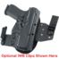 optional belt clips for Ruger SR40C OWB Holster