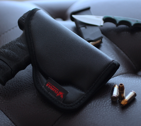 draw Kahr CT9 from pocket holster