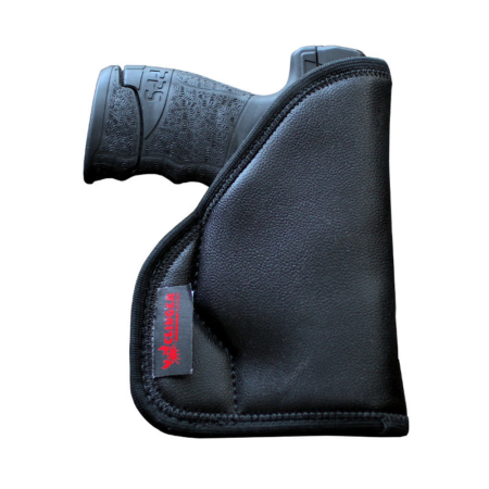 wearing a Kel Tec P11 holster in the pocket
